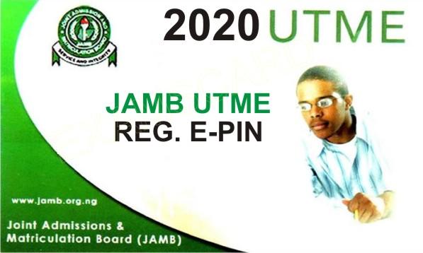 JAMB UTME 2020